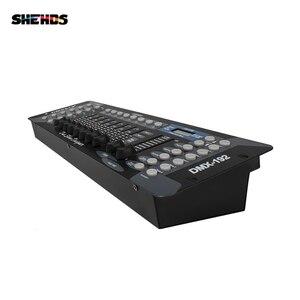 Image 3 - Nova chegada 192 controlador dmx para moving head light 192 canais para dmx512 dj equipamento controlador dsico