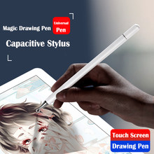 Universal Smartphone Pena Stylus Android IOS Lenovo Xiaomi Samsung Tablet Pen Touch Screen Menggambar Pena Stylus iPad iPhone(China)