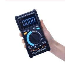 Multimetr cyfrowy true-rms; ZT-M1 DC AC volt Ampere miernik oporu elektrycznego; Urządzenie do pomiaru temperatury częstotliwości; Bateria/temperatura/dioda