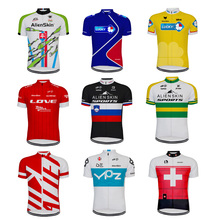 2020 new Team Cycling Jersey Short Sleeves Tops Clothing Mtb Ropa Ciclismo Bike Types Classical Retro Maillot Customized