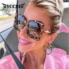 Women Sunglasses Oversized Big-Frame Designer Plastic Female Fashion Gradient Mujer UV400