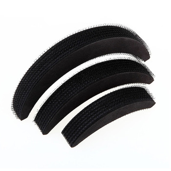 3 Pcs Different Sizes Fluffy Crescent Clip Bangs Paste Root Hair Increased Device Good Hair Heighten Tools for Girl M88 image