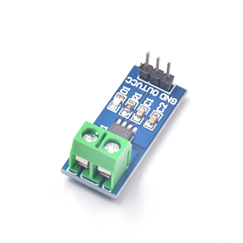 5pcs/lot Hall Current Sensor Module ACS712 20A Model For Ar-duino