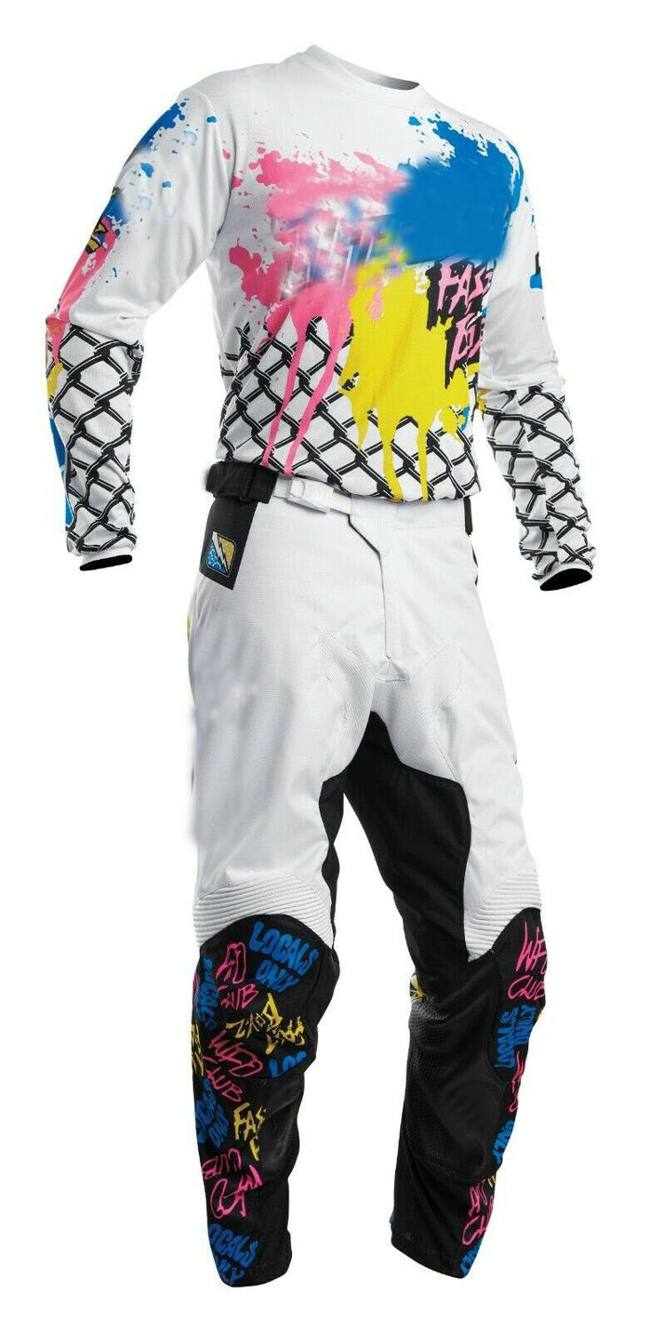 2020 MX Racing Sector Shear Camo Adult Pant Jersey Motorcycle Gear Set Motocross Race Motorbike Suit
