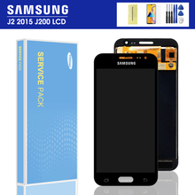 J200 LCD For Samsung Galaxy J2 2015 J200 J200F J200H J200Y LCD Touch Screen Display Digitizer Assembly  Adjustable brightness