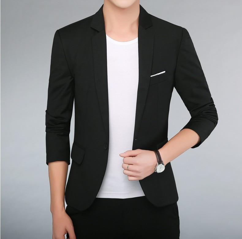 Wish AliExpress Men's Casual Small Suit Men's Best Man Service Korean-style Slim Fit Suit Men'S Wear