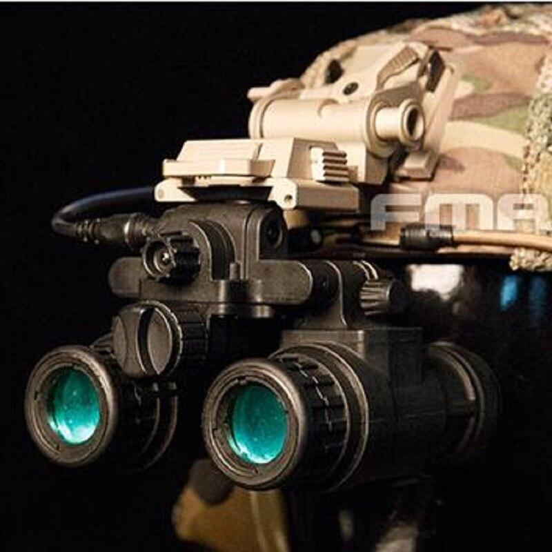 FMA TB1284-B Тактический шлем NVB AN-PVS31 манекен с светильник функция версии B (черный)
