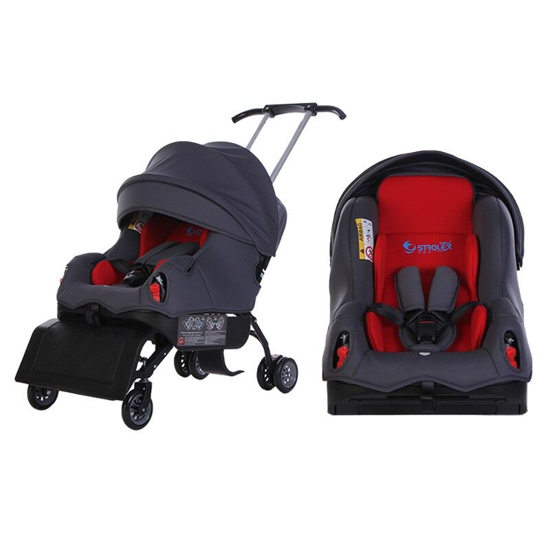 2020 New Baby Stroller 5 In 1 Travel Systems Stroller Baby Foldable Portable Stroller Newborn Baby Sleep Basket