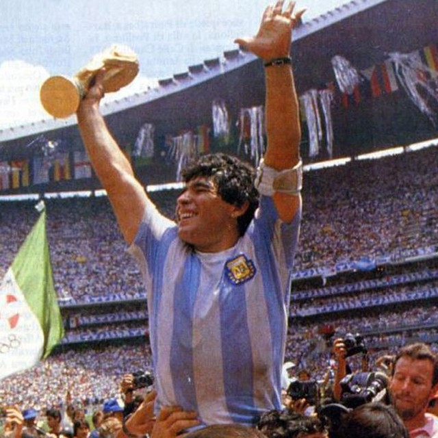 1986 Champion Maradona Jersey No.10 Argentina Vintage T-shirts Commemorative Tops Tees Set 8