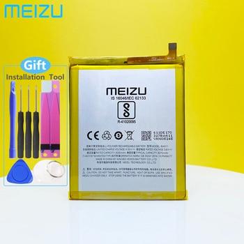 Meizu 100% Original 3070mAh BA611 Battery For Meizu M5 Meizy Meilan 5 M611H Phone High Quality Tracking Number meizu 100% original 3060mah bt65m battery for meizu mx6 mobile phone battery with tracking number