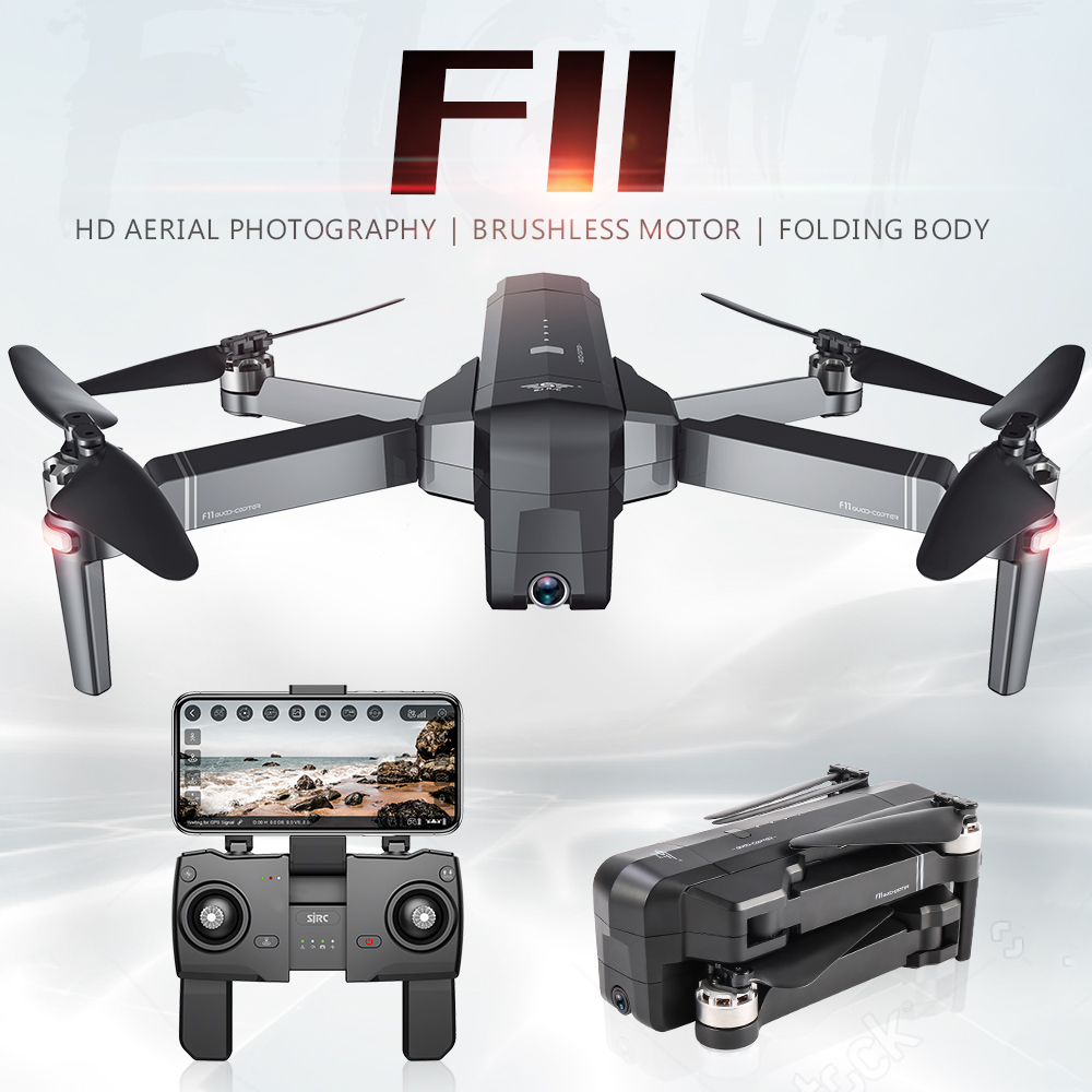SJRC F11 PRO 5G WiFi RC Drone GPS Foldable Drones With 2K Camera HD Brushless Quadcopter Drone 28 Mins Flight Time