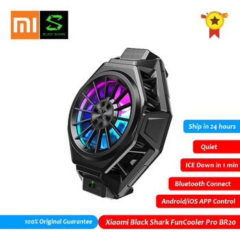 XiaoMi Black Shark 2 3 FunCooler Pro BR20 APP Control Bluetooth Mobile Phone Cooler Fan PUBG Gamer Mobile Phone Accessories