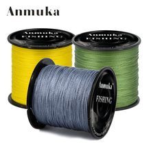 1 Roll 0.4mm-8mm 4series300 meters Strong Fishing Line Super Power Fish Lines Wire PE Nylon line crystal Luya Main