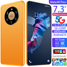 Mete40 Pro 7 3 Inch 5G Smartphone 12 512GB Large Memory Dual Sim Cards Bluetooth HD Camera Mobile Phone Android 10 0 Ten Core
