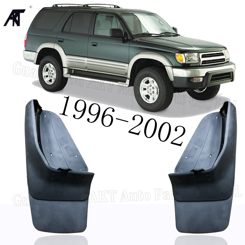 Mud Flap for <font><b>Toyota</b></font> <font><b>4Runner</b></font> 1996 - <font><b>2002</b></font> Set Molded Mud Flaps Mudflaps Splash Guards Front Rear Mud Flap image