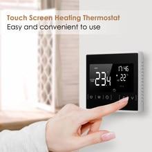 Termostato inteligente WiFi para calefacción de suelo, controlador de temperatura para agua/eléctrica