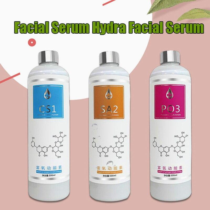 Aqua Peeling Solution As1 Sa2 Ao3 Bottles 500Ml Aqua Facial Serum Hydra Dermabrasion For Normal Skin Microdermabrasion