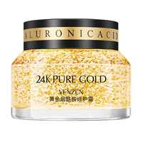 VENzen 24K Gold Niacinamide Face Repair Cream Brightening Hydration Moisturizing Oil Control Smoothing Anti-Aging Face Skin Care