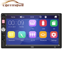 7 Inch Double Din HD Bluetooth Car MP5 Player Apple Bluetooth Stereo Radio Mirror Link Camera Automotive Mp5 For IOS Android
