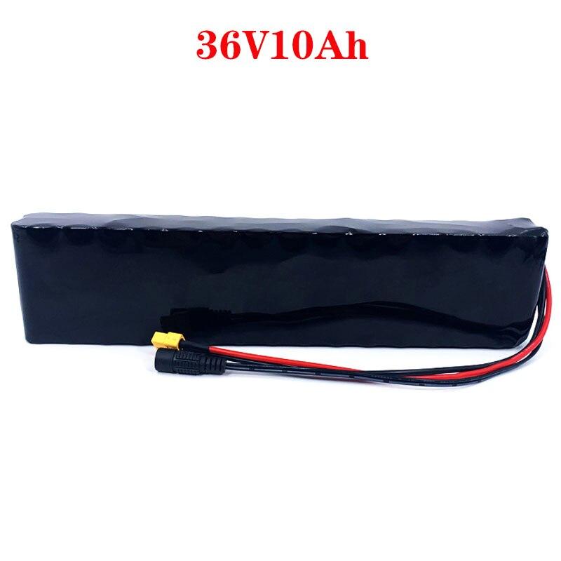 Аккумуляторная батарея LXIAOYU 36 в 10 Ач 10S3P 36 в 600 Вт 42 в 18650 для электровелосипеда Xiaomi M365 Pro