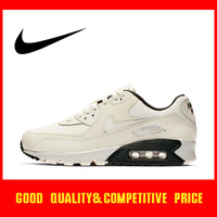 Original Authentic Nike AIR MAX 90 ESSENTIAL Women Running Shoe Sneakers Fashion Breathable Outdoor Low top 2019 New 881105 301
