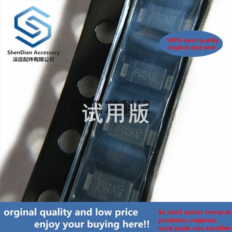 10pcs 100% Orginal New DFLS220L-7 Schottky Diode SMD SOD-123 1206