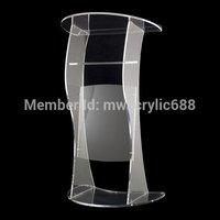 Ambona furnitureFree wysyłka condustness nowoczesny Design tanie przezroczysty akrylowy pulpit akrylowy pleksi w Zestawy szkolne od Meble na