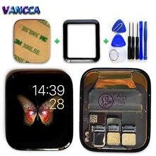 Vancca LTE / GPS LCD תצוגה עבור אפל שעון 4 מגע מסך Digitizer עצרת אפל שעון סדרת 4 Pantalla החלפה חלק