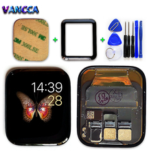Vancca lte/gps lcd ディスプレイ時計 4 タッチスクリーンデジタイザアセンブリリンゴの時計シリーズ 4 pantalla 交換部分