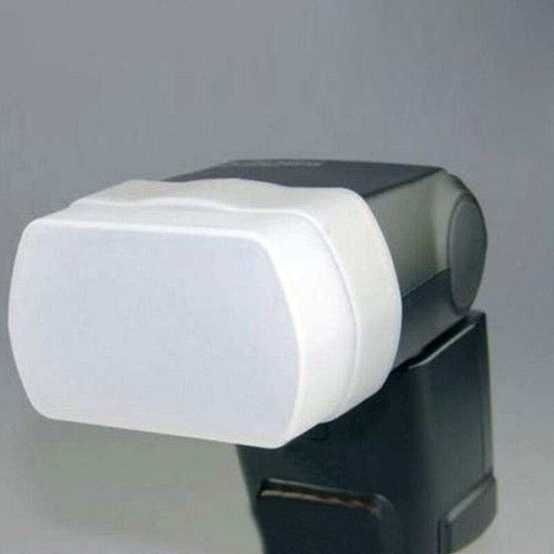 White Diffuser For Speedlite 580EX II Flash For Yongnuo YN-560 II YN565 For Canon 580EX II Durable