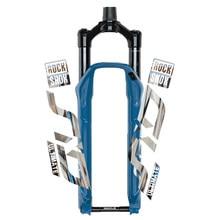 2020 rockshox sid front fork sticker bicycle decoration mountain bike front fork post waterproof transparent bottom