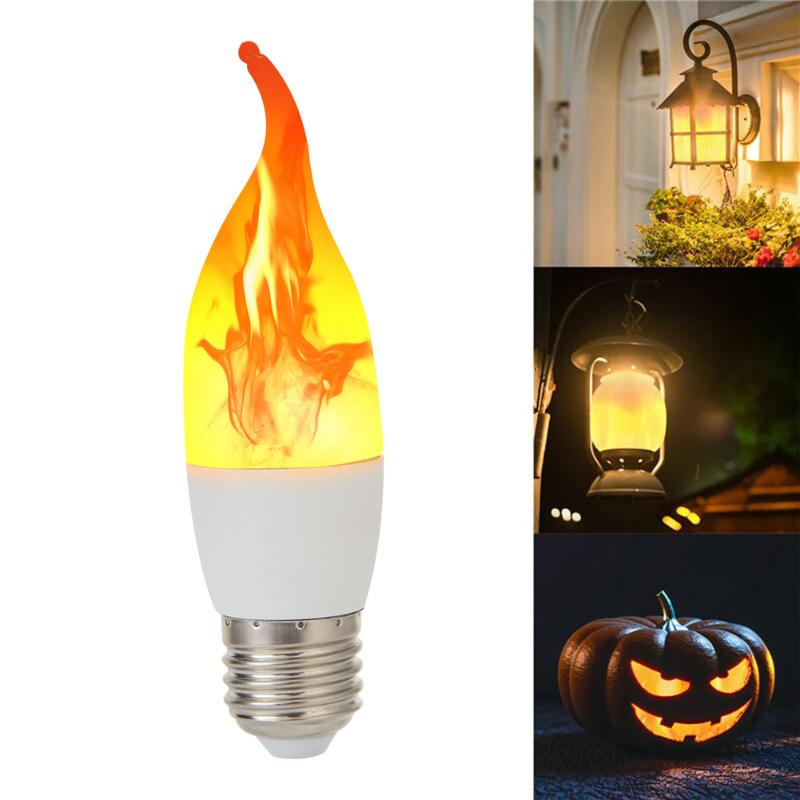 Hot Sale Pendant Lights Classic Delicate E27 Flame Effect LED Light Bulb Flickering Fire Decorative Lamp For Party Xmas