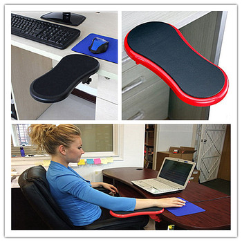 Computer Hand Bracket Arm Support Board Mouse Hand Support Computer Hand Support Board Hard ABS Computer Mouse Pad Hand Support цена 2017