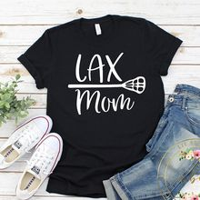 Футболка lax mom футболка для Лакросса Лакросс Спорт мама подарок