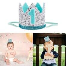 Bebé Topper para tarta de feliz cumpleaños lindo Príncipe accesorios para el pelo de princesa cumpleaños Cupcake Topper para cumpleaños adornos de pastel de fiesta