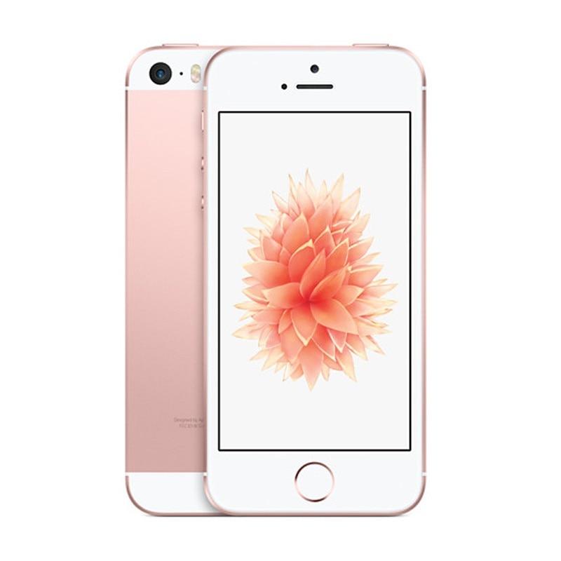Used Phone Original Unlocked Apple IPhone SE Fingerprint Dual-core 4G LTE Smartphone 2GB RAM 16GB 32GB 64GB 128GB ROM Touch ID