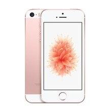 used Phone Original Unlocked Apple IPhone SE Fingerprint Dual-core 4G LTE Smartphone 2GB RAM 16GB 32GB 64GB 128GB ROM Touch ID bluboo edge 2gb 16gb smartphone gold