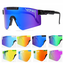 Brand Pit viper Sunglasses Men/Women Colorful Mirrored Polarized Sun Glasses For Male Female UV400 Protection Goggles With Case