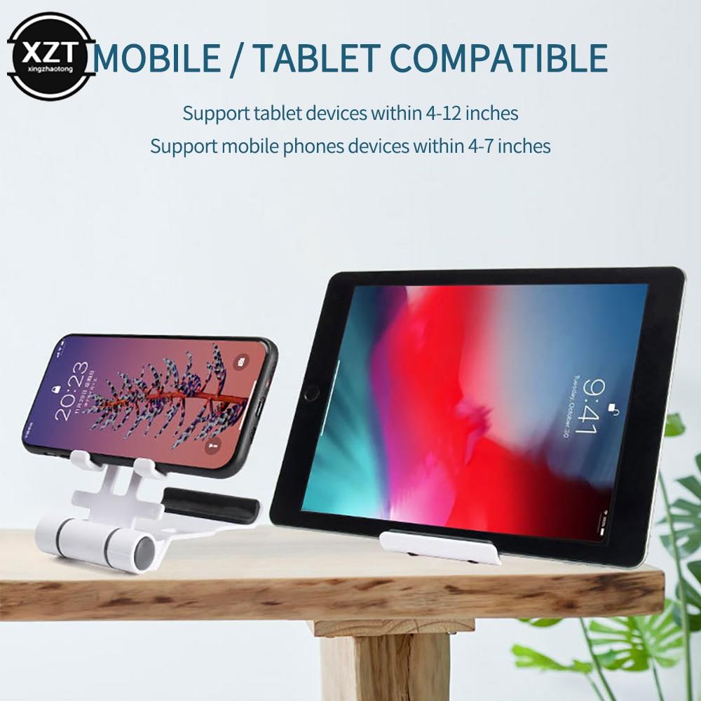 Мобильный телефон/планшет Настольный держатель Стенд складной регулируемое крепление с несколькими углами универсальный для IPhone 11 ipad, Samsung, Huawei, Xiaomi
