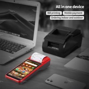 Image 3 - Ручной КПК ISSYZONEPOS, с 1D сканером штрих кода, КПК 4G, Wi Fi, с камерой, чековый принтер для мобильного заказа