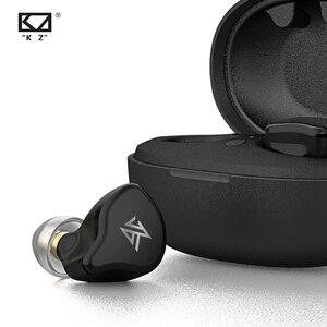 Image 5 - Kz S1 S1D tws真のワイヤレスbluetooth 5.0イヤホン/ハイブリッドイヤフォンタッチ制御ノイズキャンセルスポーツヘッドセット