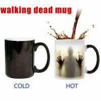 Die Walking Dead Tasse Magie Farbwechsel Kaffee Becher Empfindliche Magie Halloween Geschenk