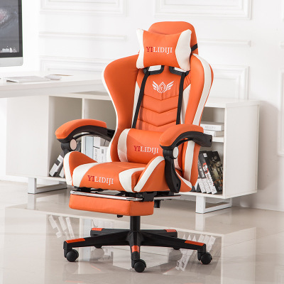 Cadeira Gamer Chair Computer Profissional Gaming Chair Ergonomic Game Chair for Silla Gamer Footrest Reclining WCG Massage