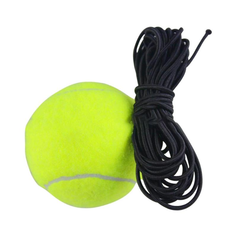 Hot Sale Tennis Balls Multi-function Beginner Rubber Woolen Tennis Ball With String Replacement For Tennis Trainer