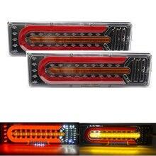 2X 24v универсальный автомобиль грузовик светодиодный задний фонарь жилых автомобильных прицепах рабочими электрическими схемами кемперов ...