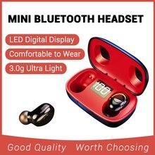 V5.0 TWS Wireless Bluetooth Earphone 3D Stereo Mini Bluetooth Wireless Headset H