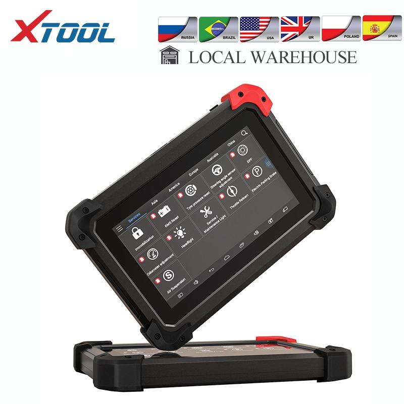 XTOOL EZ400 PRO Professional Car Diagnostic Tool Auto Key Programmer OBD2 Scanner Code Reader Odometer Adjustment Update Online