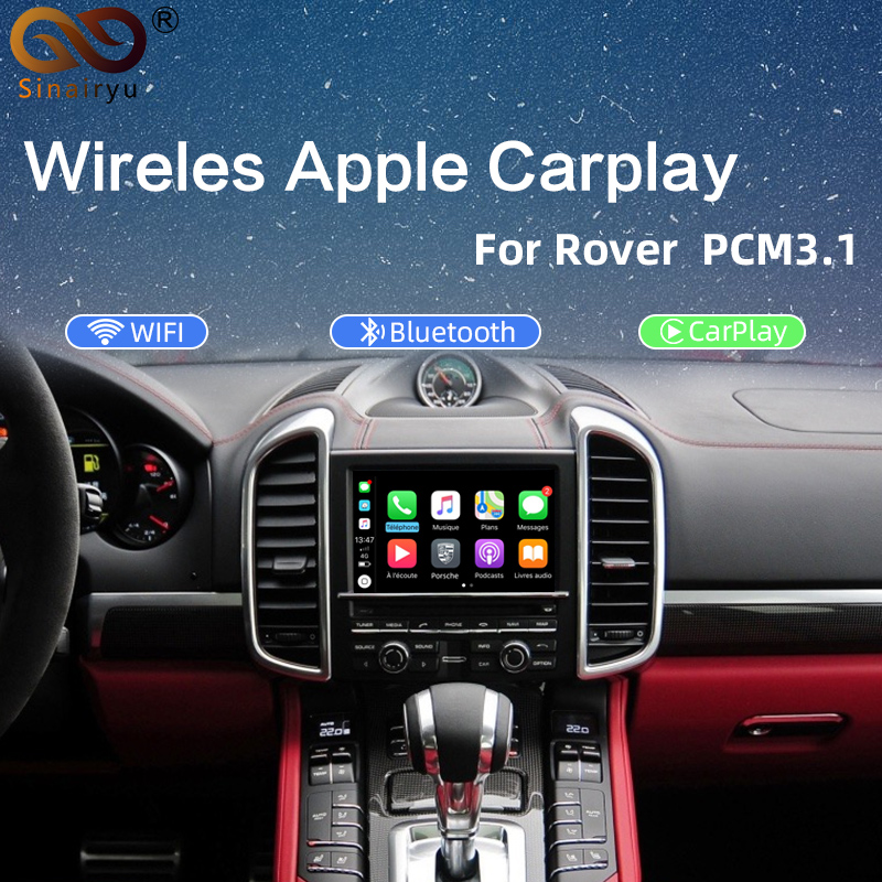 Wireless Car auto play box for Porsche PCM 3.1 Cayenne Macan Pana mera 911 etc for carplay on Porsche image