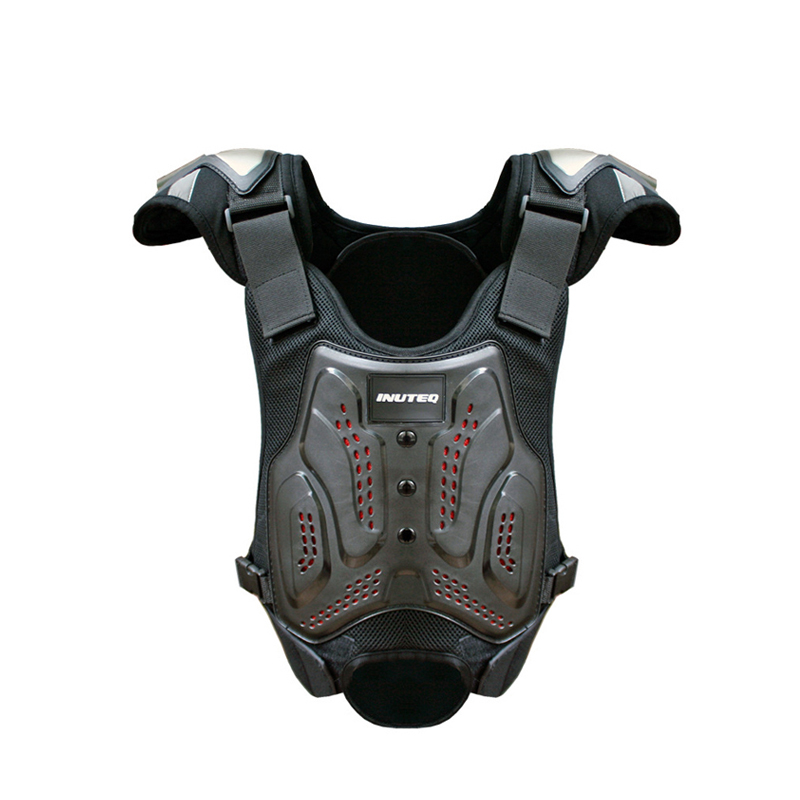 Outdoor Motocross Armor Vest Titanium Shoulder Pad Motorcycle Jackets Off-road Motorcycle Anti-fall Body Armour Motos Gear