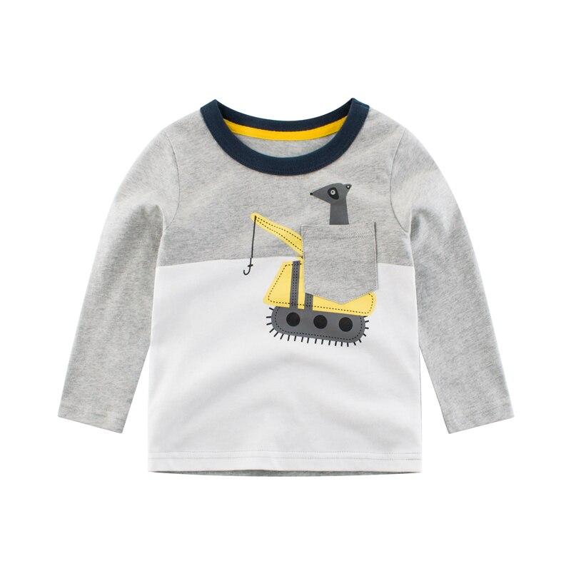 Boys Girls Kids /& Toddler Birds Animals 1 Long Sleeve T-Shirt 100/% Cotton